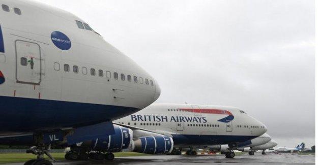 BA personal y plano de los fanáticos de la caza de 747 tienda de regalos