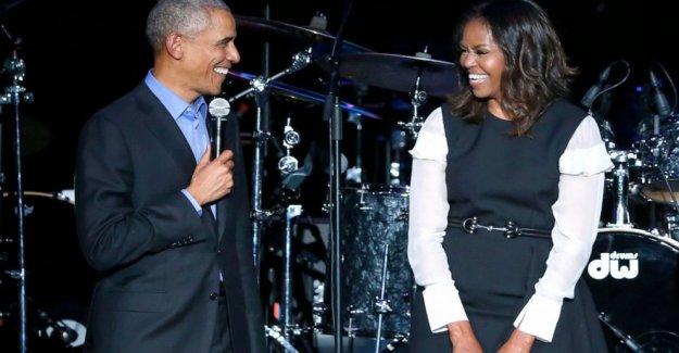Barack Obama a aparecer en Michelle Obama, el podcast de debut