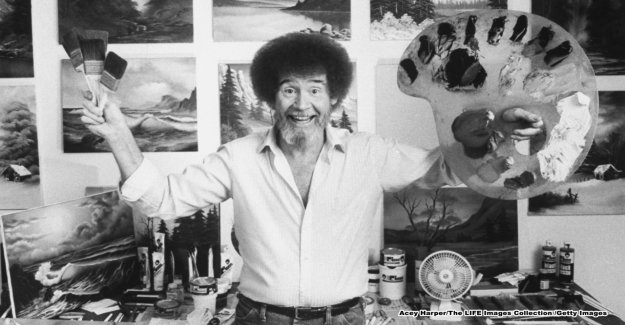 Bob Ross tiempo en la Fuerza Aérea le influyó en 'la Alegría de La Pintura,' pal dice