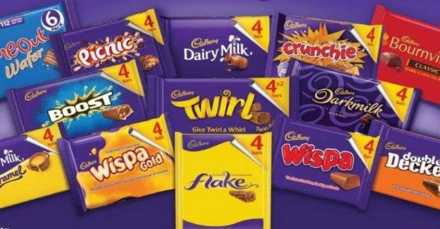 Cadbury acusado de 'shrinkflation' como paquete de tamaño de corte