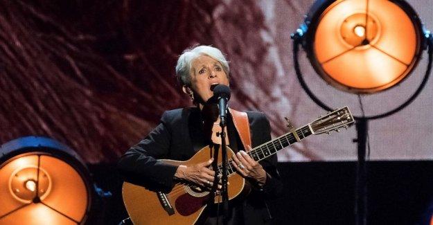 Cantante, compositora, activista Báez nombre Guthrie destinatario