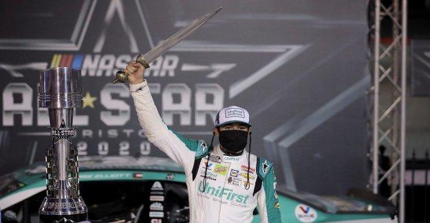 Chase Elliott gana NASCAR All-Star race en Bristol antes más grande de los EEUU deportes multitud desde que comenzó la pandemia