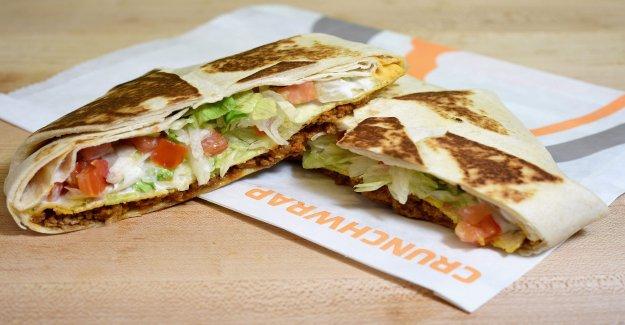 Chick-fil-a comida se convirtió en un Taco Bell Crunchwrap está dividiendo TikTok