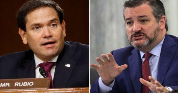 China golpea sanciones Rubio y Cruz