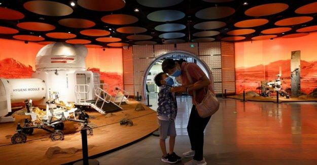 China lanza ambicioso intento de land rover en Marte