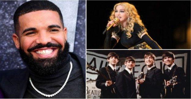 Cómo Drake rompió el US Billboard registro