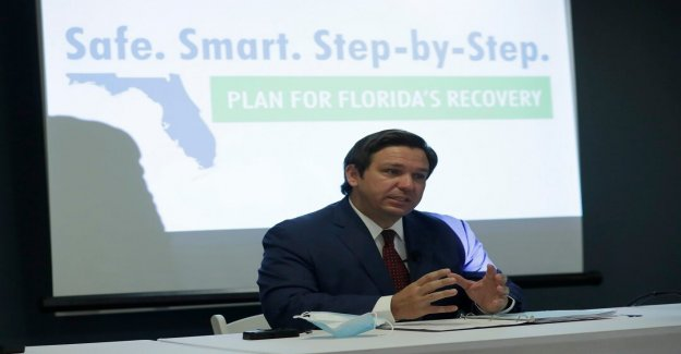 Como coronavirus casos de aumento de la Florida, 43 unidades de cuidados intensivos llegar a la capacidad de