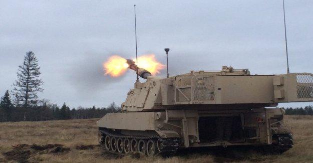 Cómo hizo el Ejército el doble del rango de ataque de artillería?