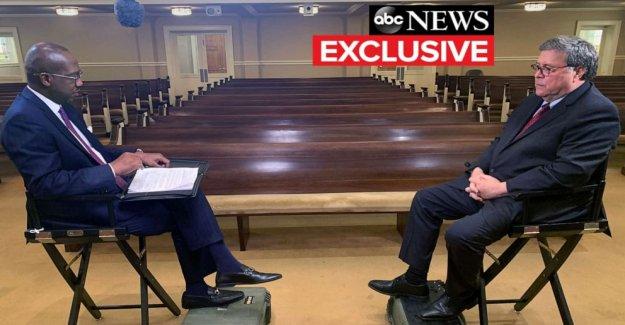 Como los federales siguen buscando la entrevista con el Príncipe Andrés, el Procurador General William Barr dice Jeffrey Epstein sonda de marchas en