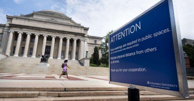 Con peticiones y demandas, algunos estudiantes de la demanda más baja en la matrícula para la enseñanza en línea