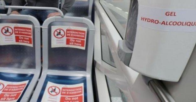 Conductor de autobús de la izquierda con muerte cerebral después de la 'máscara de ataque'