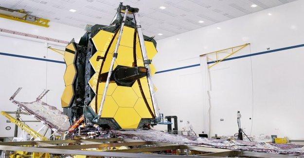 De la NASA, James Webb Telescopio retrasado en parte debido a la pandemia de coronavirus