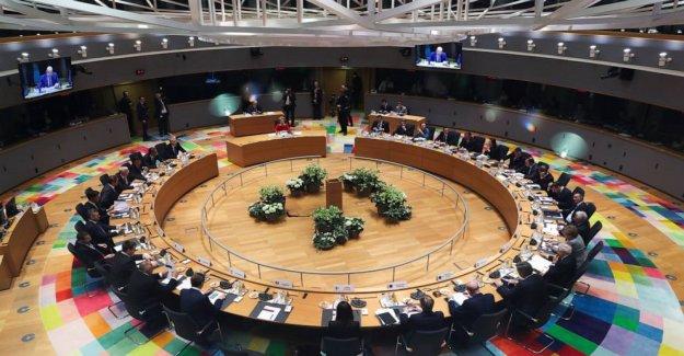 De la UE para conocer cara a cara a la cumbre a repartir de $2.1 billones de dólares