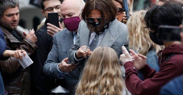 Depp guardaespaldas dice Amber heard abusado de la estrella de Hollywood