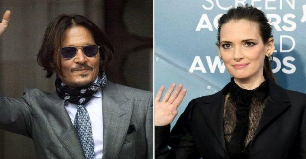 Depp 'nunca, nunca violento para mí' - Winona Ryder