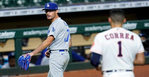 Dodgers, los Astros bancos claro, después de Joe Kelly zumba Alex Bregman y Carlos Correa