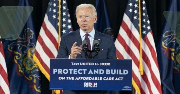 Donald Trump está en retirada: Biden rampas de hasta ataques en COVID-19 de la respuesta, en medio de aumento en los casos a nivel nacional
