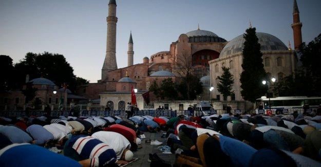 El Consejo mundial de Iglesias expresa su consternación por la iglesia de Santa Sofía