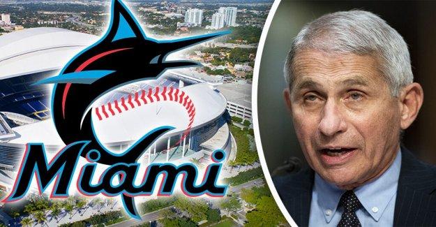 El Dr. Fauci en la MLB de la temporada, tras Marlins brote de coronavirus: 'Esto podría poner en peligro'
