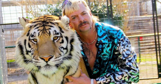 'El Rey del tigre' zoo buscado por la policía después de restos humanos que se cree que está enterrado en la propiedad