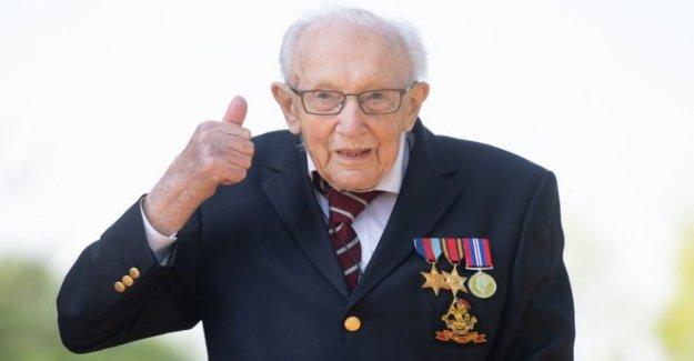 El capitán Sir Tom Moore para ser nombrado caballero por la Reina