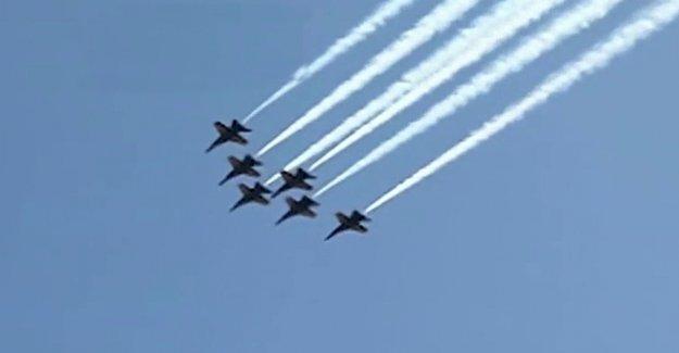 El departamento de Defensa para llevar a cabo la vista aérea de la Ciudad de Nueva York para el 4 de julio
