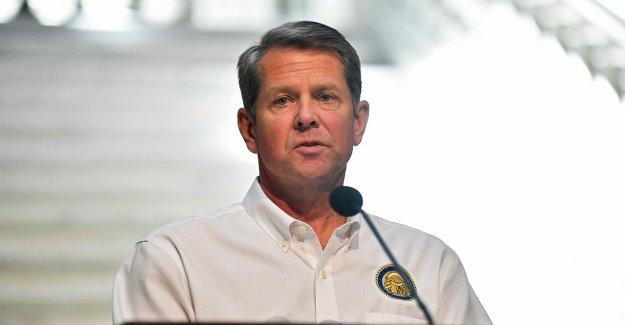 El gobernador de Georgia, las prohibiciones de las ciudades, los condados de la obligatoriedad de las máscaras