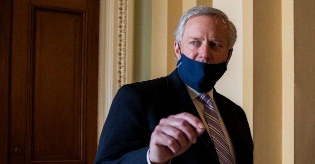 El senado REPUBLICANO de la Casa Blanca y a punto para dar a conocer su próximo coronavirus plan de alivio