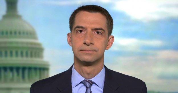 El senador Tom Algodón: Cuando el Triunfo se presenta alcistas en Rusia, Dems 'acurrucarse en posición fetal'