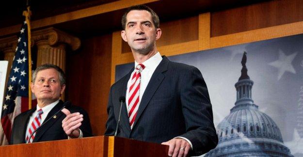 El senador Tom Algodón proyecto de ley para prohibir el financiamiento federal para la enseñanza de La 1619 Proyecto