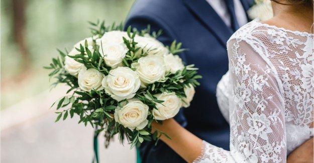 Este virus infecta a una pareja que celebra el 100 persona de la boda en California