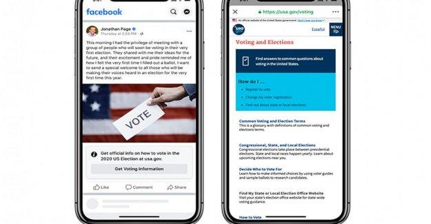 Facebook de votación de las etiquetas en candidato a puestos de sembrar la confusión