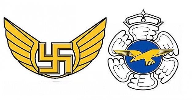 Finlandia tranquilamente quita la esvástica logotipo de su Fuerza Aérea