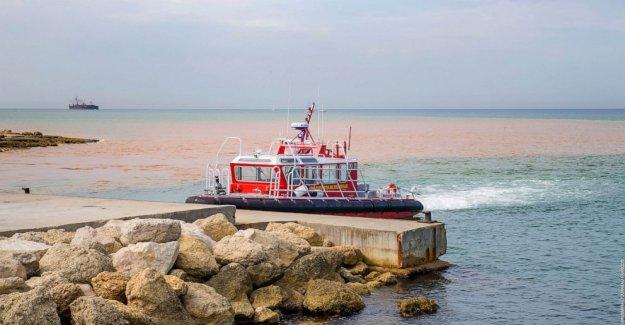 Francés de la refinería de fugas de sustancias químicas tóxicas en la vida marina de la zona