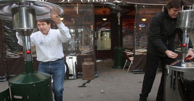Francia anuncia la prohibición de fuera de calentadores
