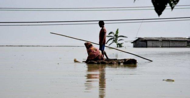 Fuertes lluvias se sumerge miles de aldeas de la India