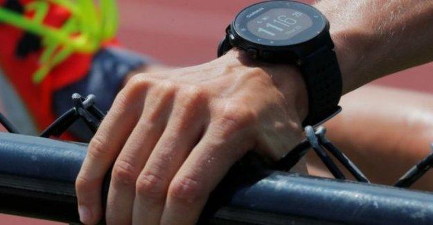 Garmin smartwatch usuarios no pueden obtener las manos en los datos