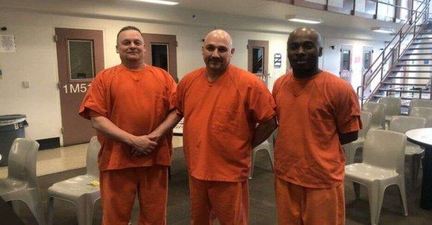 Georgia reclusos acreditado con ayudar a guardar el adjunto de la vida: el informe