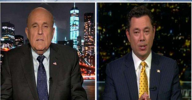 Giuliani martillos 'estúpido' 'comunista' de Blasio, dice Black Vida Importa 'no es un tumor benigno de la organización
