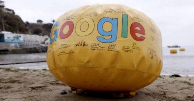 Google cable de datos de enlace de estados unidos, reino unido y España