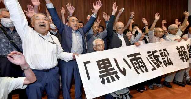 Hiroshima corte reconoce la bomba atómica 'black rain' víctimas