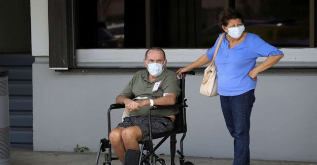 Hospital de Miami inundado con pacientes críticos como coronavirus casos de aumento
