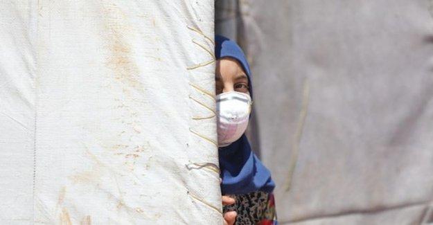 Idlib virus caso de que aumenta los temores de que Siria campamentos
