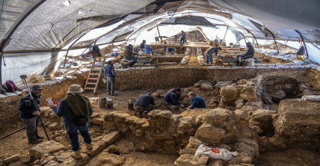 Impresionante sitio arqueológico descubierto cerca de la embajada de estados unidos en Jerusalén