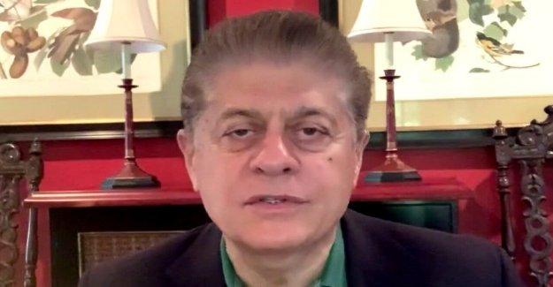 Juez Napolitano: NJ gobernador es el fraude,' haciendo sus propias leyes