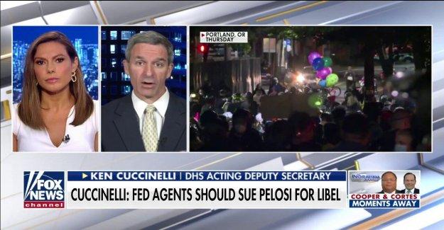Ken Cuccinelli: Dems' 'Nazi' y 'stormtrooper' etiquetas para los funcionarios de la fed puede ser injurioso