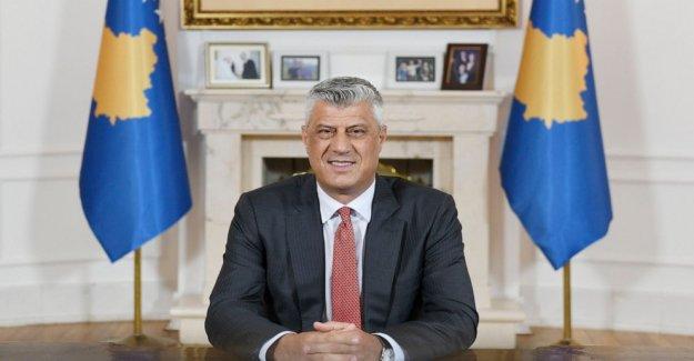Kosovo Thaçi, se niega rotundamente a cometer cualquiera de los crímenes de guerra