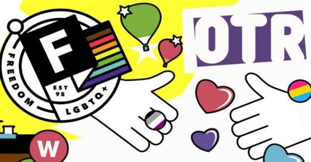 LGBT grupo de jóvenes celebra los 25 años de servicio