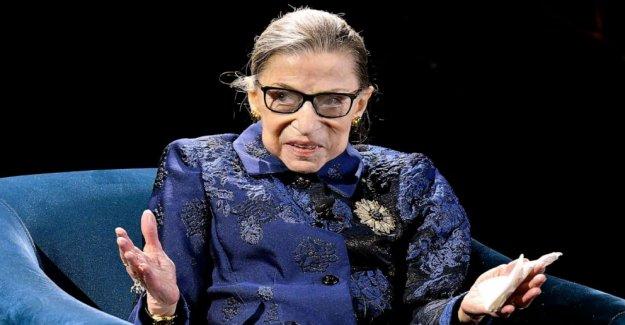 La Corte suprema de Justicia, Ruth Bader Ginsburg hospitalizado después de conducto biliar procedimiento