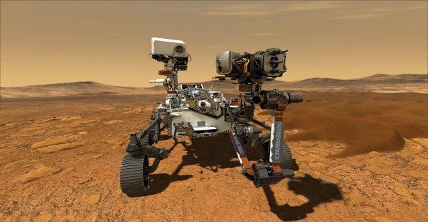 La NASA Mars 2020 Perseverancia Rover lanza al Planeta Rojo